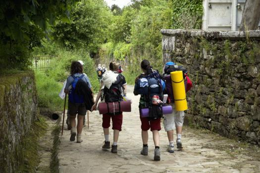 young people camino